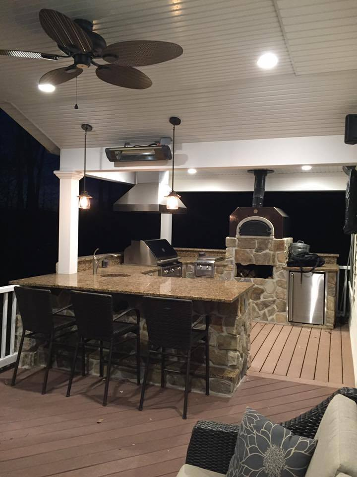 Custom Outdoor Kitchen Installation, Chester NJ