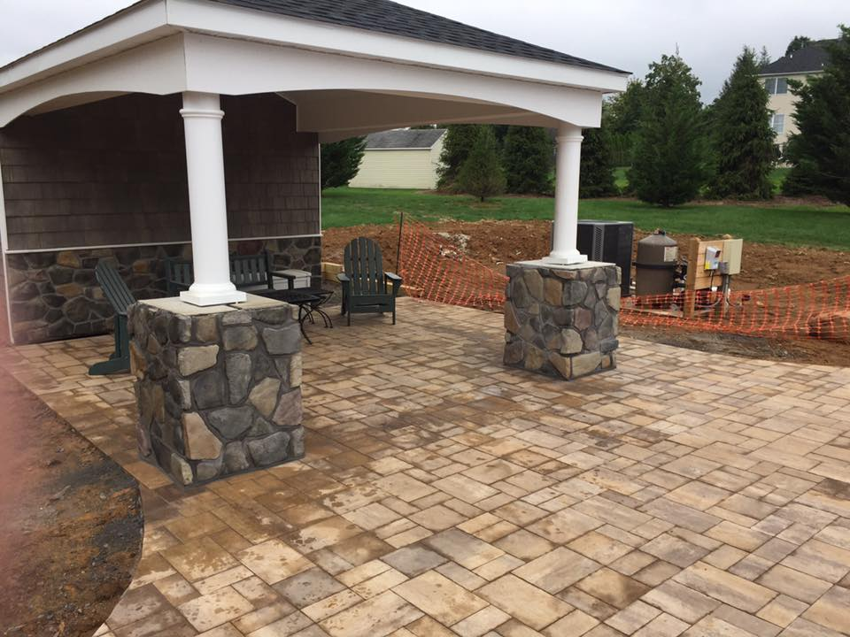 Custom Outdoor Patio – Stewartsville, New Jersey