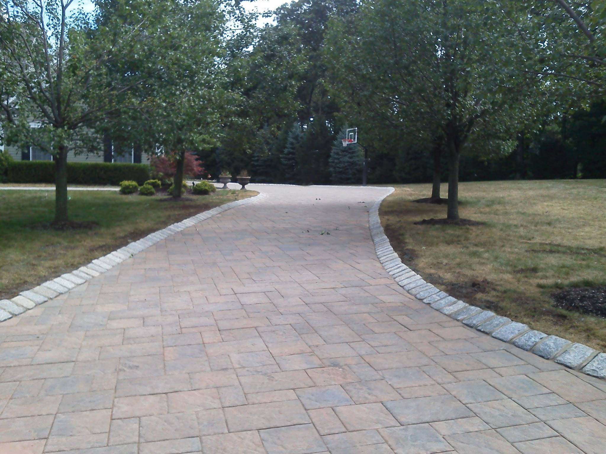 Paver Driveway Installation - Chester New Jersey