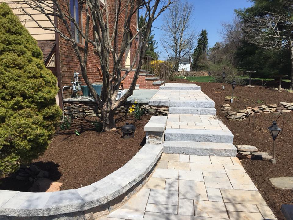 Paver Stairs After U2013 Succasunna NJ