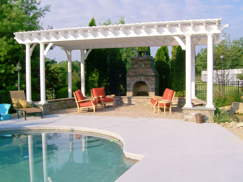 Outdoor Fireplace Design, Chester NJ