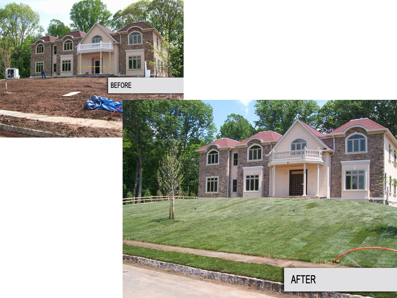 Landscape Before and After – Flanders NJ