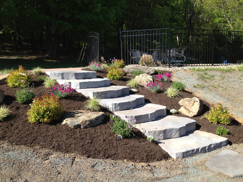 Paver Stairs, Mendham New Jersey