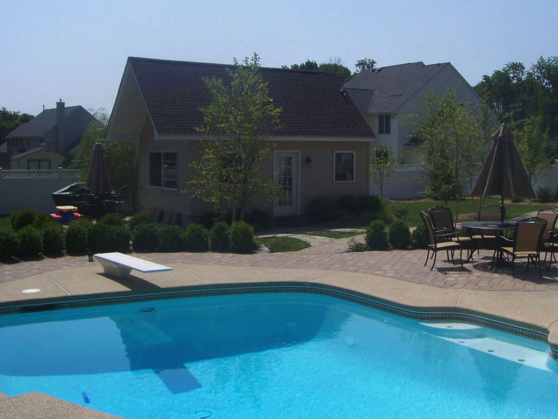 Pool Patio Paver Design, Flanders NJ