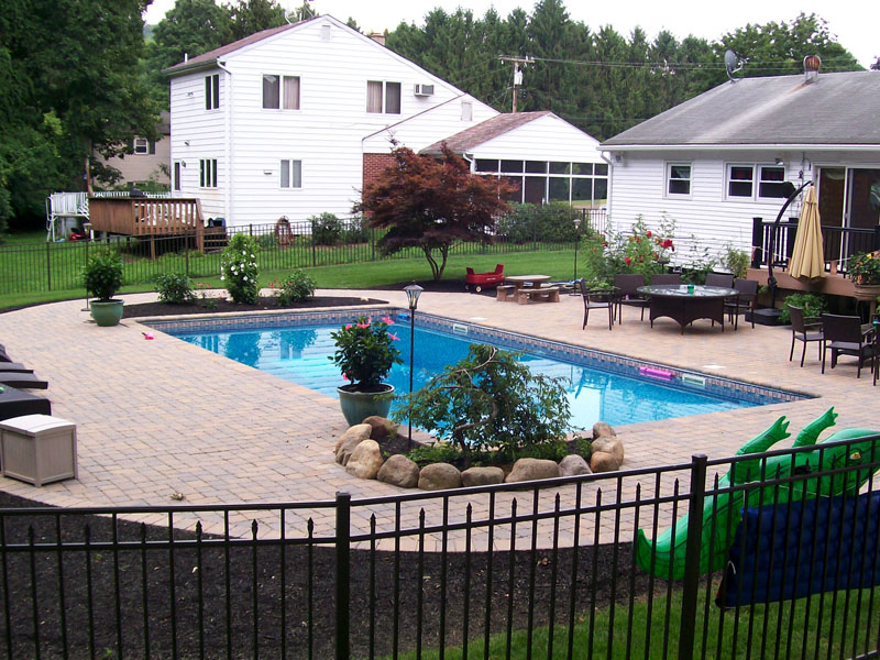 Pool Paver Patio Design, Flanders NJ