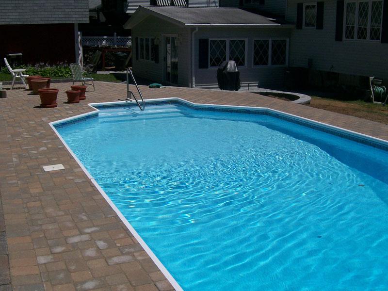 Paver Poolscape Design, Bedminster NJ