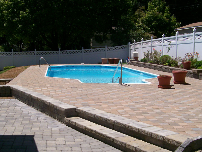 Paver Poolscape Design, Bedminster NJ