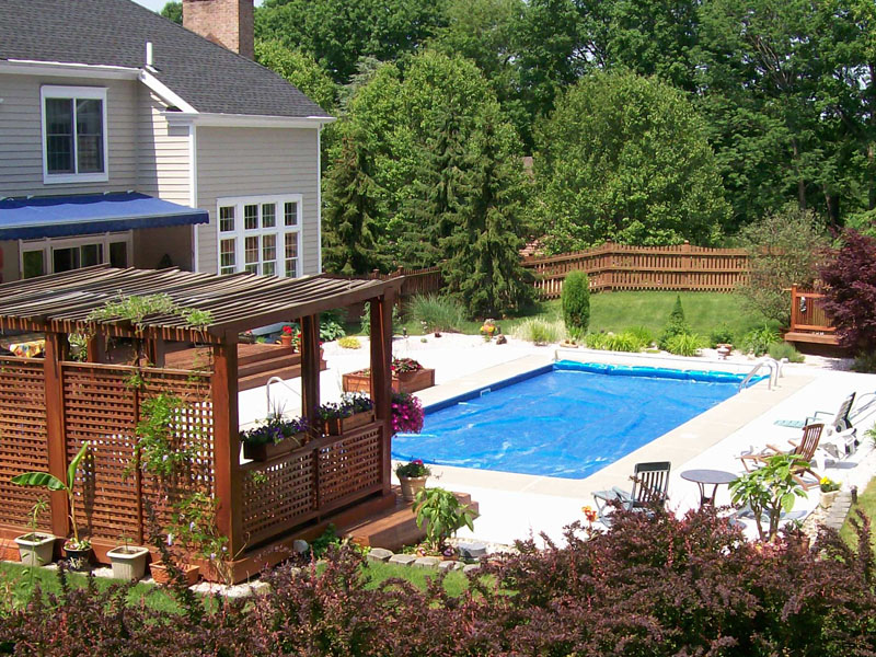 Custom Poolscape Design, Mount Olive NJ
