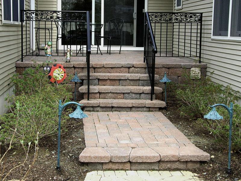 Stair Entrance Install, Budd Lake NJ