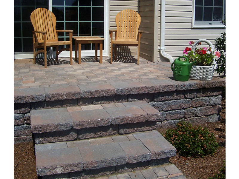 Stairs and Paver Patio Install, Flanders NJ