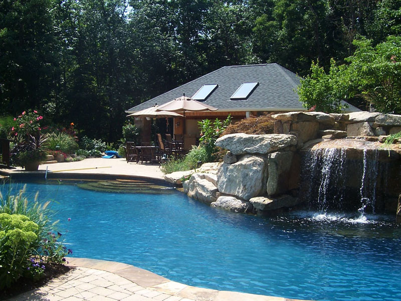 Complete Outdoor Poolscape Design, Flanders NJ